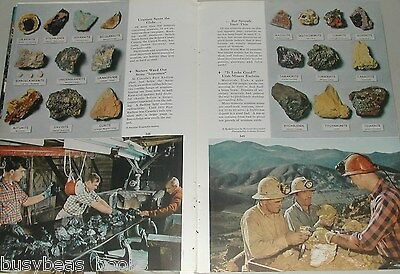 1954 magazine article URANIUM prospecting, mining, processing, worldwide