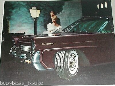 1958 Goodyear Tire ad, Double Eagle Lincoln Continental