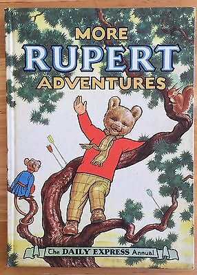 RUPERT ORIGINAL ANNUAL 1952 Not Inscribed Not Price Clipped FINE and Scarce Thus