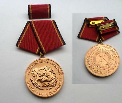 East german Merit medal of the NVA / Army Stasi State security / Police GDR
