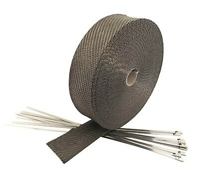 Exhaust Thermal Heat Wrap Manifold Insulating Header Tape Wrap 5cm x 10m
