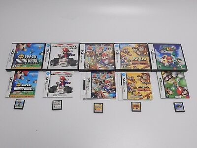 Lot of 5 Nintendo DS Games