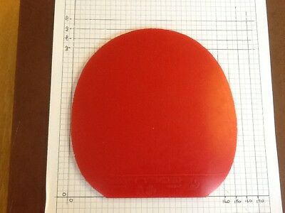 USED Table Tennis Rubber Stiga Neos 2mm RED