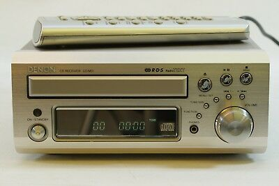 Denon UD-M31 Mini Shelf CD Receiver Player System with Remote Control