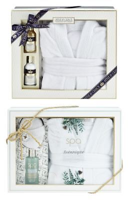 Style & Grace Women's Bathrobe Gift Sets With Body Lotion Fragrant Christmas New