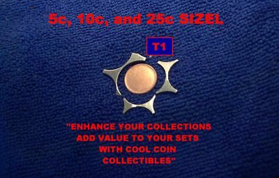 T1) SIZEL and a BLANK, Error / Variety Coin...