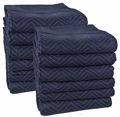 "Pro Moving Blankets (12-Pack) - 72"" x 80"" New"