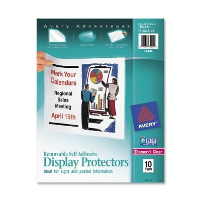 Avery Top-Load Display Sheet Protectors, Letter Size, 10 per Pack (74404) New