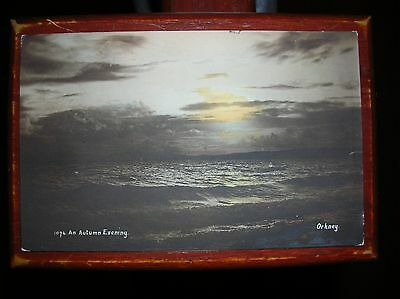 Orkney  --  an Autumn Evening. Nr Kirkwall, Stromness, Scapa Flow etc (1906)