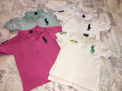 Boys Ralph Lauren T Shirts Age 4-5 Years