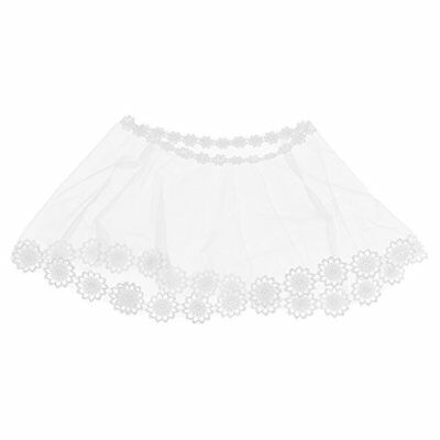 Kloud City Bridal Sheer Wrap Applique Cape Embroidered Lace Tulle Shawl for