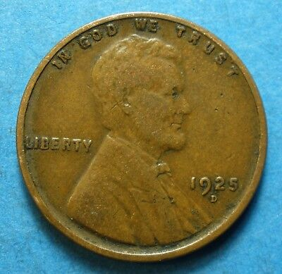 *1925-D* Lincoln Head Cent     free shipping