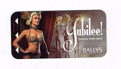 BALLY'S Las Vegas Room KEY Casino Jubilee! SHOWGIRL BUY 5 GET 1 ~ FREE SHIPPING