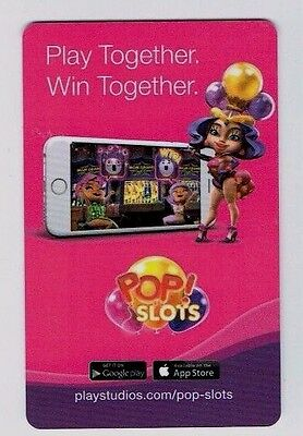 POP! SLOTS Room Key NEW YORK NEW YORK Las Vegas CASINO Hotel Key Card ~FREE SHIP