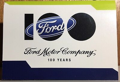 Ford Motor Company ~ Staff 100 Years Collectible Coin