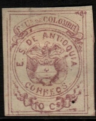 Colombia-Antioquia, Mint, 3, Ng