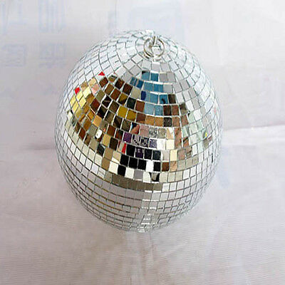 1X Mirror Disco Ball for Wedding Party Decoration 250mm