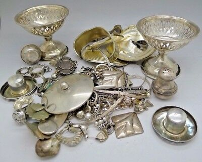 360 Grams Clean Mixed Sterling Silver Scrap or NOT NO RESERVE AUCTION ESTATE WOW