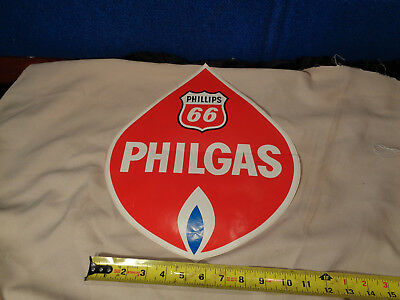 Vintage **phillips 66**  Advertising Decal Sign #2