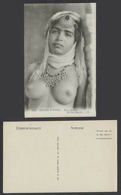 Algeria Old Postcard Jeune Femme du Sud Algerien Native Young Woman Girl LL 6326
