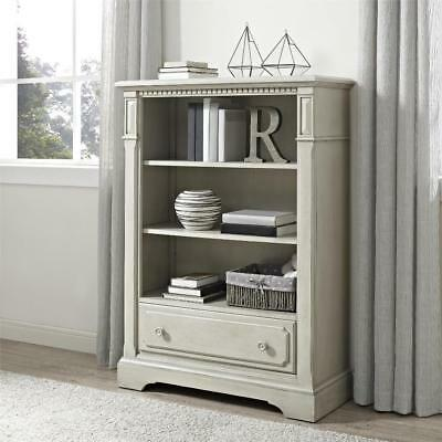 New Bertini Graceland Bookcase - Satin Gray Model:4F2DDC1D