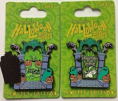 Disneyland 2017 Mickey's Halloween Party Frightfully Fun Parade Nightmare LE Pin