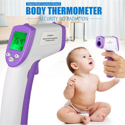 Digital LCD Temperature Gun Non-Contact Digital Laser Infrared IR Thermometer CA