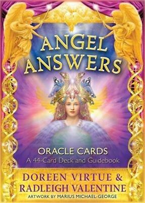 Angel Answers Oracle Cards: A 44-Card Deck and Guidebook (Cards)
