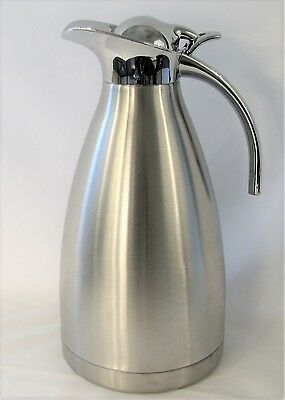 2L 68OZ Stainless Steel Carafe Double Wall Vacuum Thermos Water Pitcher Bottle