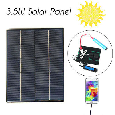 3.5W 5V Solar Panels Charge Solar Drip Board For Mobile phone 18650 Battery