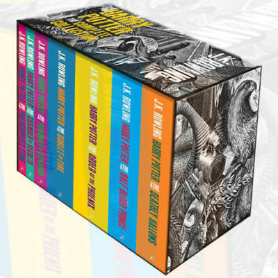 Harry Potter Boxed Set The Complete Collection (Adult Paperback) NEW