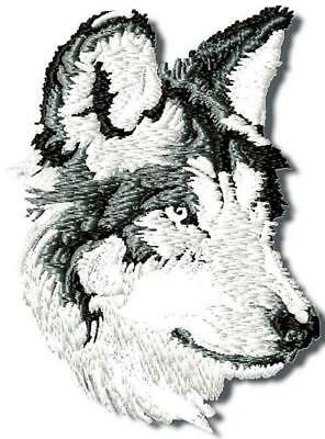 Grey Wolf 10 Machine Embroidery Designs Cd 2 Sizes