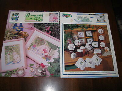 Colour Charts/True Colours: Leaflets:  Counted Cross stitch patterns: Preloved