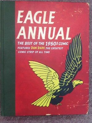 MINT CONDITION HB BOOK - EAGLE ANNUAL THE BEST OF THE 1950s COMIC - DAN DARE