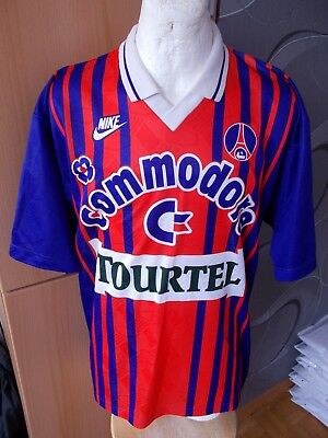 Nike Psg Paris Saint Germain France Vintage Maglia Shirt Jersey Rare Football