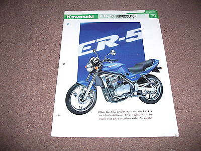 KAWASAKI  ER-5 the complete fact file from essential superbikes