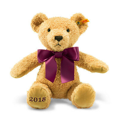 Cosy Year Bear 2018 brown with FREE gift box by Steiff EAN 113321