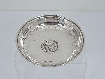 Antique Silver Pin Dish.