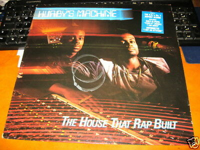 Hurby's Machine ‎- The House That Rap Built UK 1988 LP Vinyl