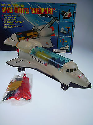 "Gsr Robot ""space Shuttle Enterprise"" Hong Kong, Bo, Like New In Good Box !"