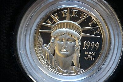 1999 1/10 oz Platinum Proof coin