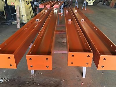 """10' Tall Cantilever Racking , Structural Hd 5.5"""" X 8.5"""" Post W/base & 3-48"""" Arms"""