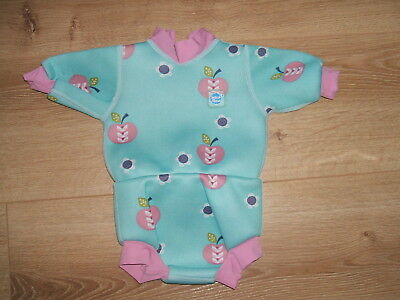 Baby Girl - Splash About Happy Nappy Swimming Costume//wetsuit -Small 0-4 Months