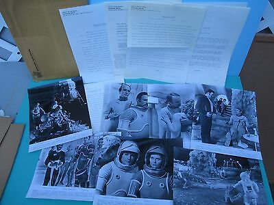1969 Hammer Cult Film MOON ZERO TWO Press KiT with (7) Stills and Press info