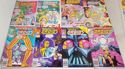 Vintage 1986 Star Wars Droids First issue #1 - #8 Comic Book Lot Set STAR WARS