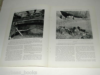 1929 magazine article on Southwest Indian Pueblo dating, Bonito