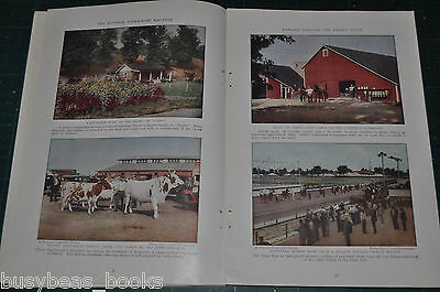 1931 magazine article ILLINOIS, Info, history, color photos Chicago too