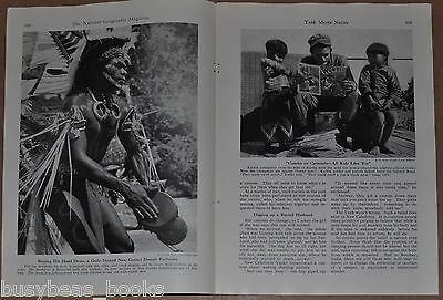 1945 magazine article about American Soldiers reactions to worldwide natives
