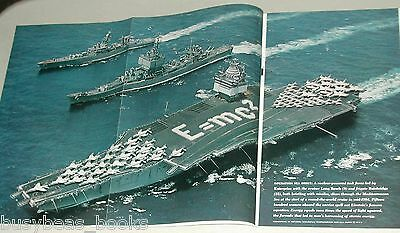 1965 magazine article, US NAVY, Nuclear ships & submarines, USS ENTERPRISE