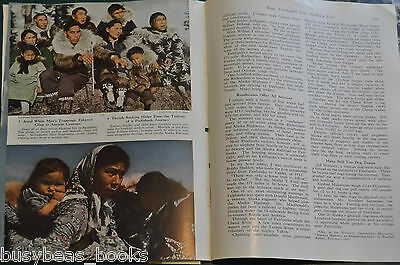 1949 magazine article FAIRBANKS ALASKA, people, history, color photos